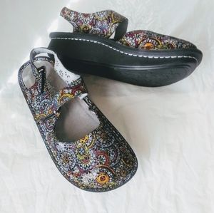 Alegria leather Upper Balance straps shoes Sz 40